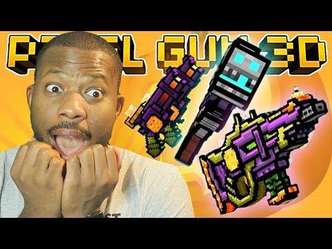 NEW HALLOWEEN WEAPONS! | Pixel Gun 3D