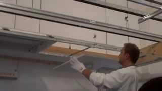 видео Конструкция потолка Грильято