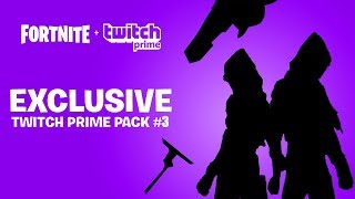 NEW Twitch Prime Pack 3 RELEASE DATE?! Fortnite FREE Amazon Skins Bundle LEAKED (How To Get It)