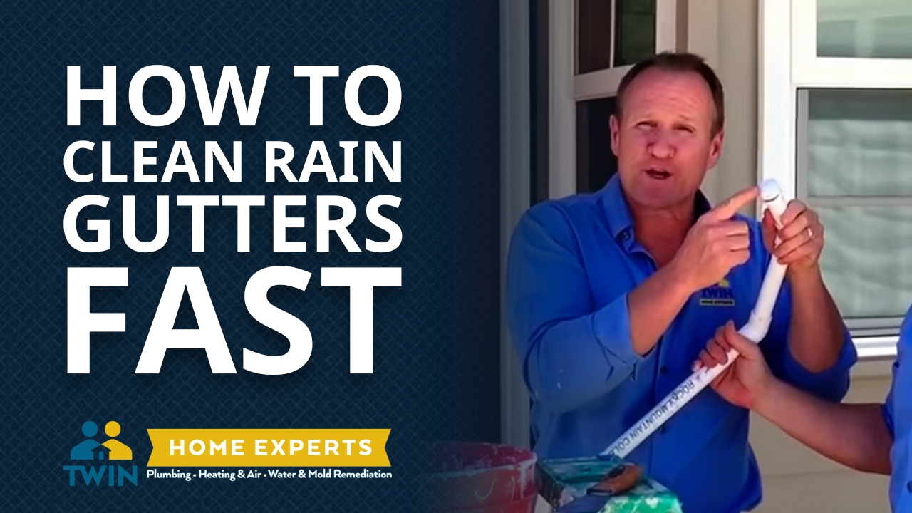 How To Clean Rain Gutters Fast From The Ground