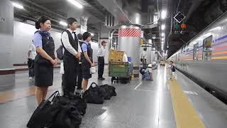 E26系カシオペアによる団体臨時列車カシオペア紀行の尾久から上野駅への...