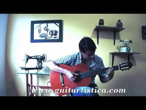 Fly me to the Moon Fingerstyle Jazz standard Guitar Acoustic Cover Solo Live