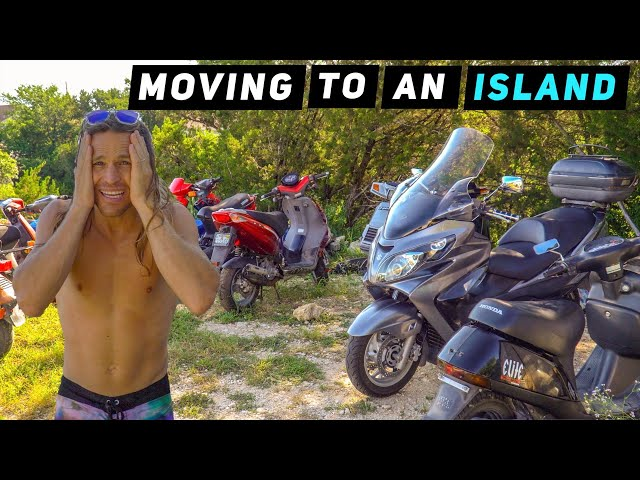 Moving To An Island Sell All Scooters Mitchs Scooter
