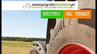 Continental wraca do rolnictwa! Nowa oferta opon rolniczych