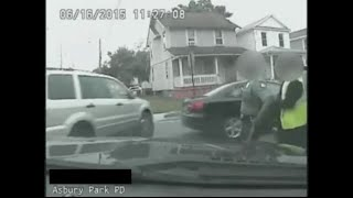 Dashboard camera shows deadly encounter between cop, ex-wife
