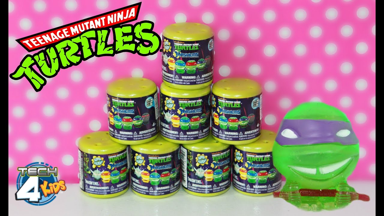 Lovely Teenage Mutant Ninja Turtles Mashems Fashems Series Super Squishy Super Cool Toys by TechKids YouTube