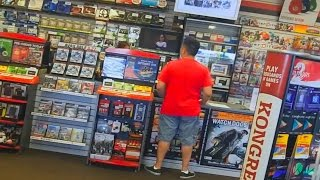 kid spends $500 on mom's credit card in GameStop! MUST WATCH!!!