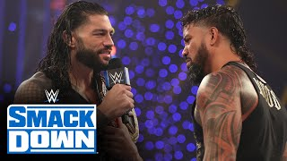 Roman Reigns promises Jey Uso that he will fall in line: SmackDown, Oct. 30, 2020