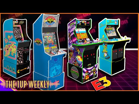 The 1up Weekly - Arcade1Up E3 Announcements! from The1upWeekly