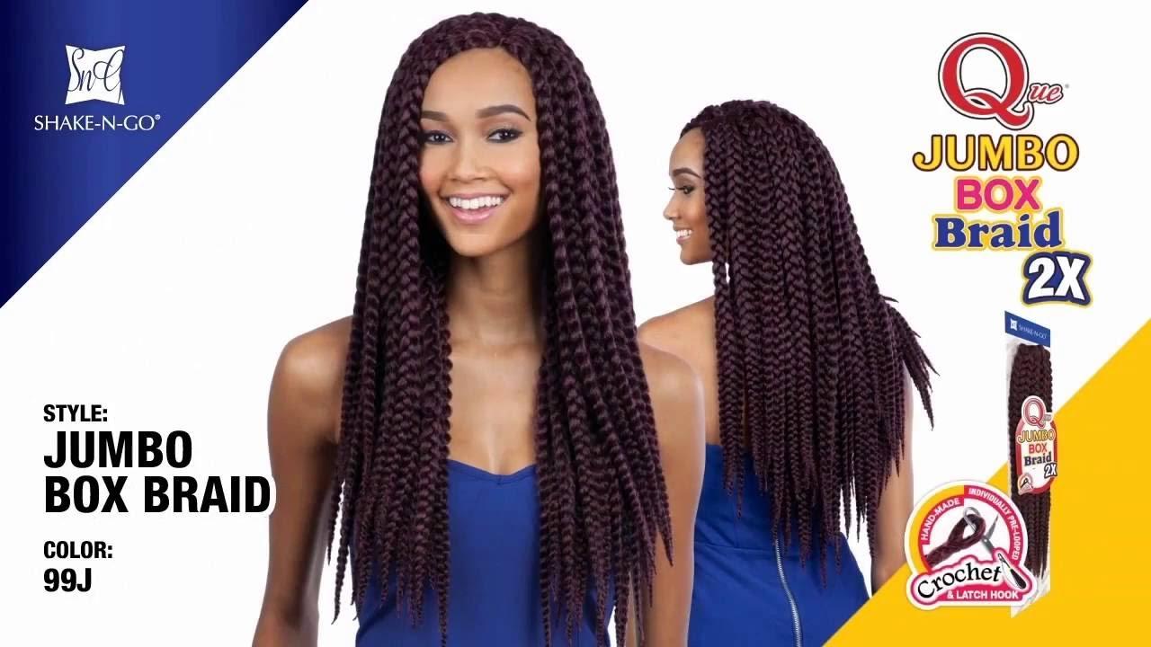 Freetress Equal Synthetic Braid Que Jumbo Box Braid 2x Ebay