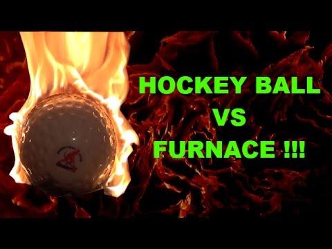 Hockey Ball @1000Degrees Celsius.