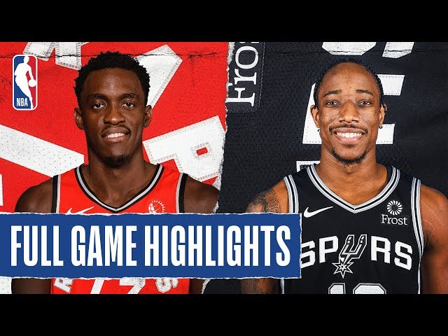RAPTORS at SPURS | FULL GAME HIGHLIGHTS | January 26, 2020
