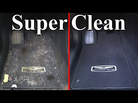 How To Super Clean the Interior of your Car (Carpets & Headliner) - ChrisFix