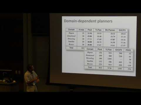 ICAPS 2017: Modeling & Solving Techniques on Performance of a Tabled Logic