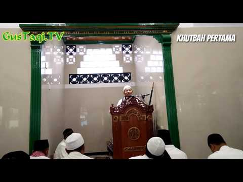 Khutbah 'Idul Fitri 1 Syawwal 1438 H di Masjid Al Barokah Ciomas -  Gus Taqi