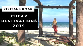 CHEAP Digital Nomad Destinations | Where to travel   work on...