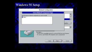 Windows 95 Installation Part 1