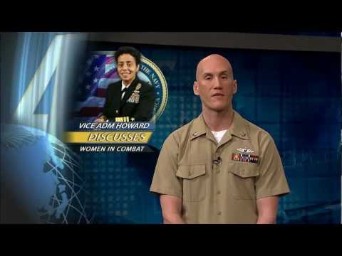 Deputy Commander U.S. Fleet Forces Command Discusses Women in Combat