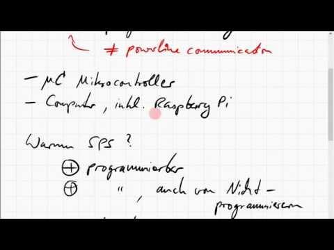 Grundlagen der SPS (speicherprogrammierbare Steuerung)
