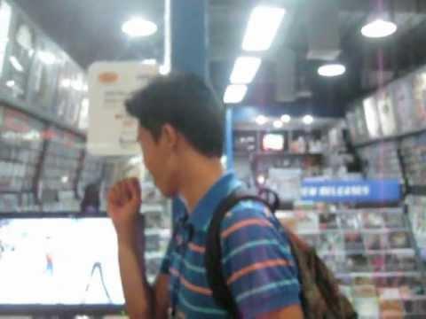 Karaoke in the mall