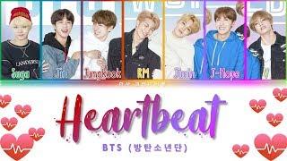 BTS (방탄소년단) - Heartbeat (BTS WORLD OST) Lyrics Color Coded (Han/Rom/Eng)