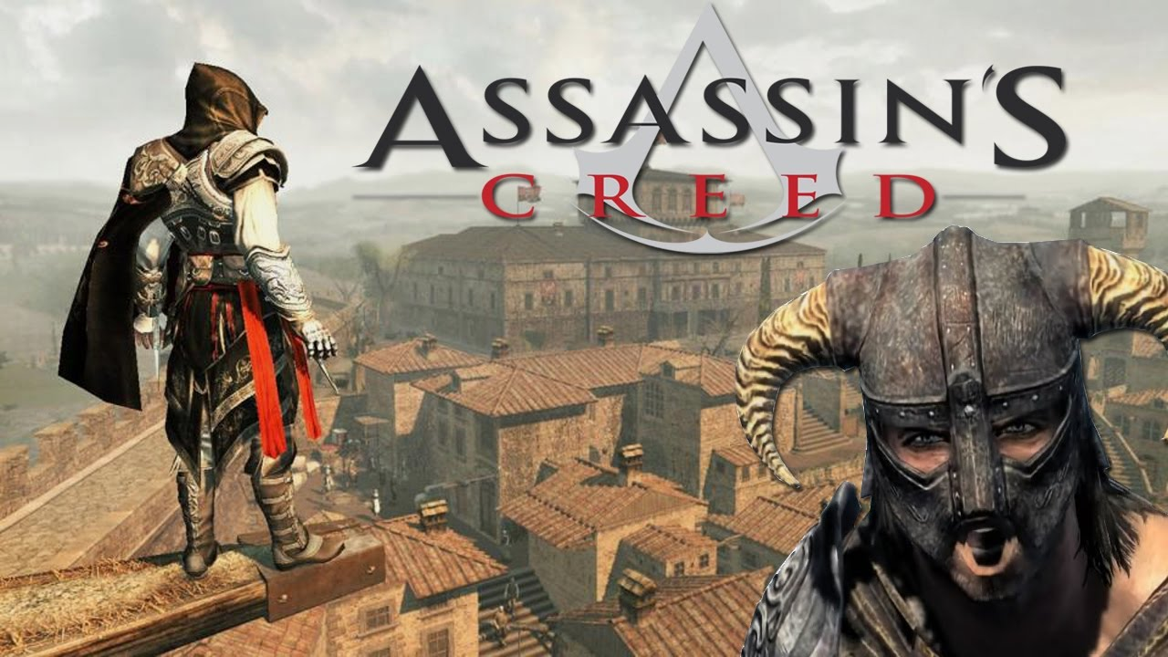 Apparently The Newest Assassins Creed Is Huge Like Skyrim Youtube