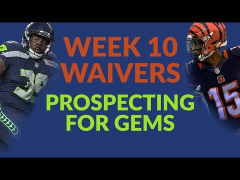 The Week 10 Fantasy Football Waiver Wire Is Heavy On Speculative Adds But Light On Sure Things