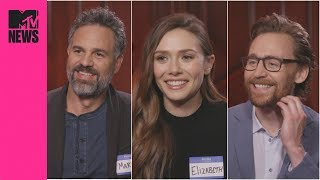 🔥  'Avengers: Infinity War' Cast Answer Your Burning Questions 🔥 | MTV News