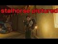Zelda breath of the wild quest: stalhorse pictured.