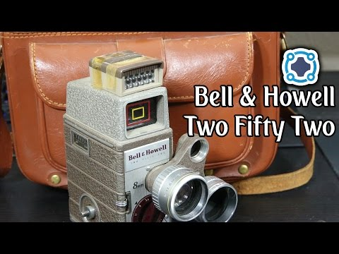 Vintage Tech - Bell & Howell Two Fifty Two