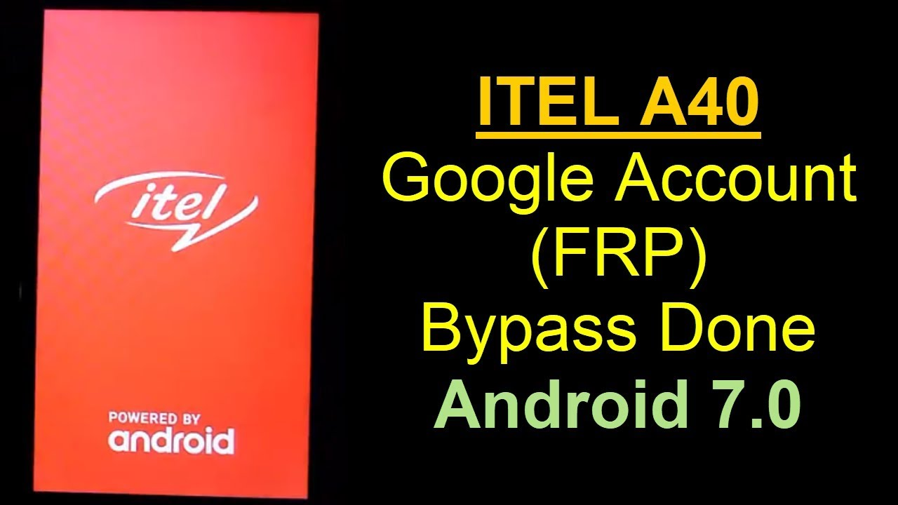 ITEL A40 Google Account Remove Done | Mobile Solution Point