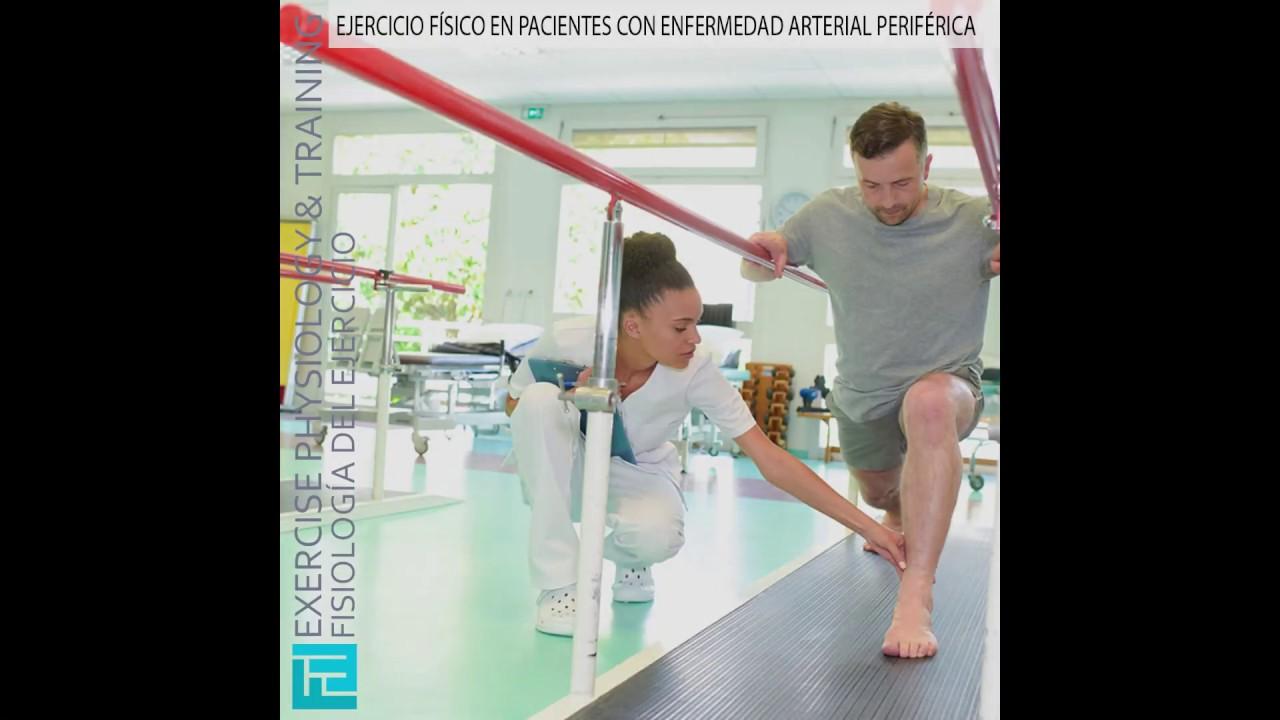 Ejercicio Físico En Pacientes Con Enfermedad Arterial Periférica Youtube