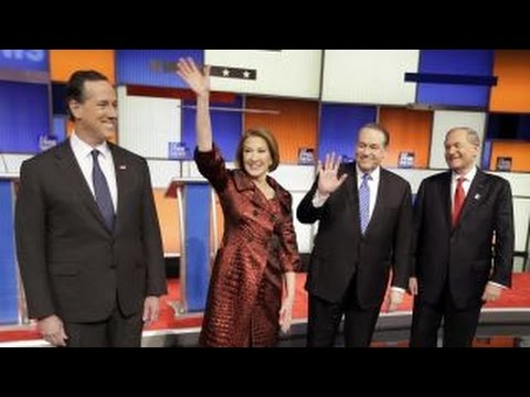 Part 1 of the 7 p.m. Fox News-Google GOP Presidential Debate