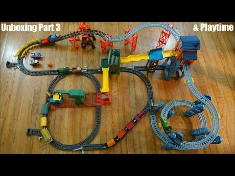 Thomas & Friends Trackmaster: Mad Dash On Sodor Set Unboxing 3 Of 3
