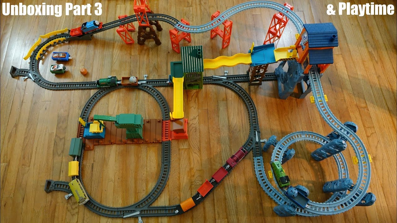 thomas amp friends trackmaster mad dash on sodor set