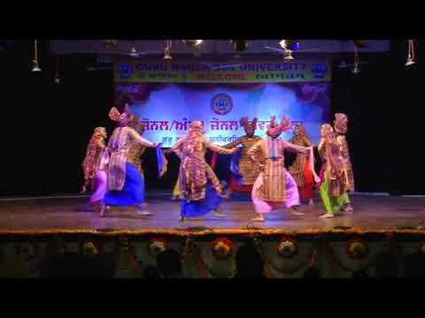 GNDU luddi winner in youth fest 2017