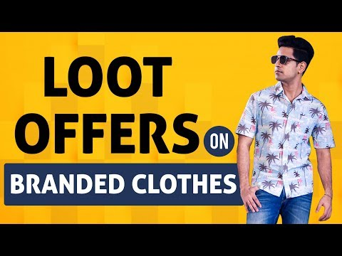 Loot Ajio Coupons: Branded Clothes Shopping in Cheap Price | Ajio Online Shopping Offers