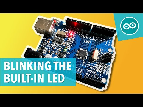 BLINKING THE ONBOARD LED - Arduino #1