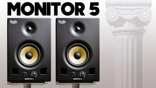 Hercules Monitor 5 Review | Best Studio Monitors Under $300?