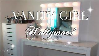 Vanity Girl Hollywood Unboxing & New Vanity Set Up!! 2015