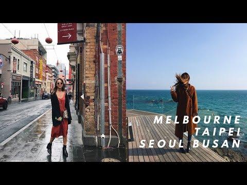 MELBOURNE+TAIWAN+KOREA VLOG | dahyeshka