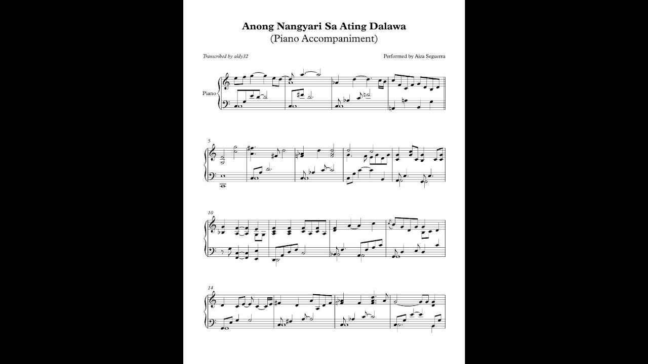 Pagdating ng panahon aiza seguerra piano
