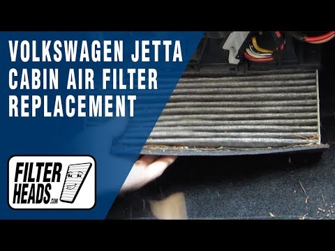 How to Replace Cabin Air Filter Volkswagen Jetta