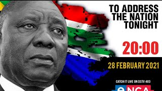 Download President Cyril Ramaphosa addresses the nation