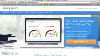 How to Print &Download Free Credit Report from Credit Karma