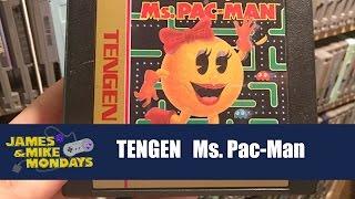 Tengen Ms. Pac-Man (NES) James & Mike Mondays