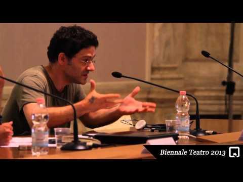 Biennale Teatro 2013 - Wajdi Mouawad (incontri/meetings)