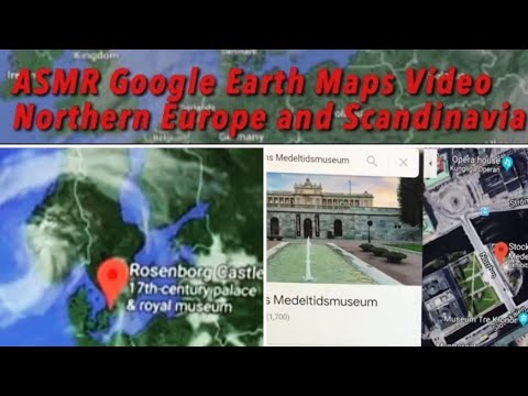 ASMR: Google Earth Map Tour Of Europe || Part I: Iceland, Faroe Islands, Norway, Sweden And Denmark