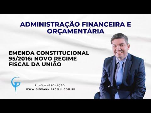 Emenda Constitucional 95/2016: Novo Regime Fiscal TOP