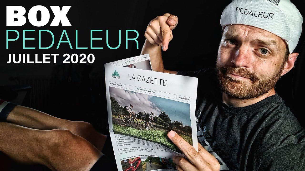La Box par Pédaleur // Juillet 2020 // Bien récupérer !